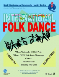 Seniors: International Folk Dance